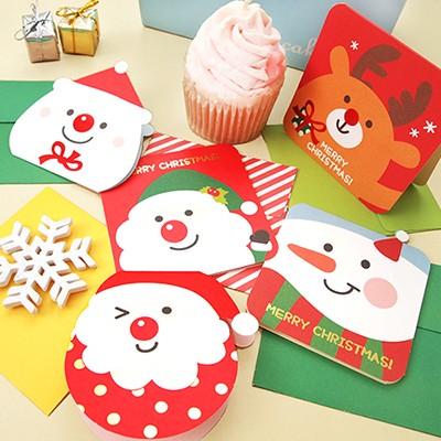 크리스마스카드 5set