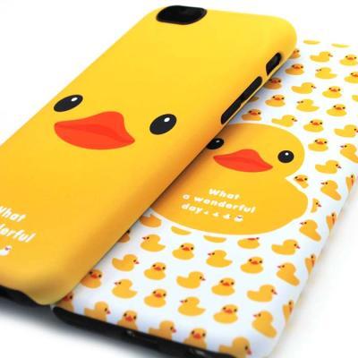 충격흡수 러블리덕 범퍼케이스(아이폰6S플러스)
