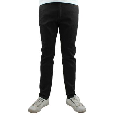 [ARSON] #14043 SLIM STRAIGHT JEANS (BLACK)