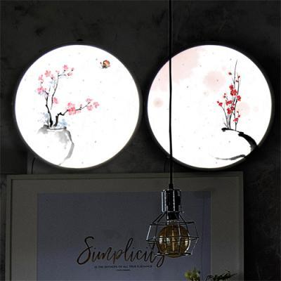 nh416-LED액자35R_아름다운꽃과화병포인트조명