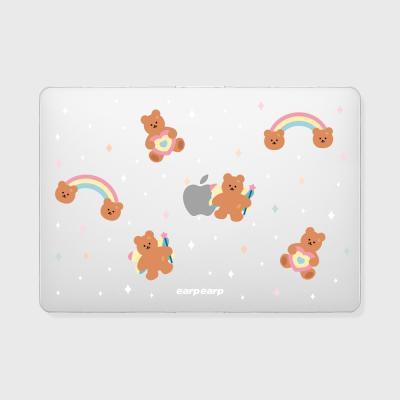 Rainbow bear(맥북-투명)