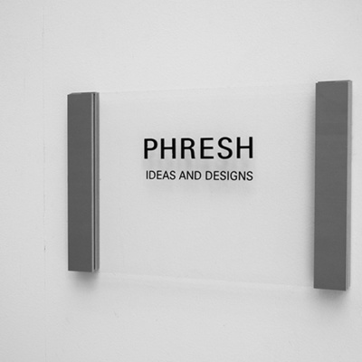 디자인문패 아크릴간판 회사현판 슬라이드