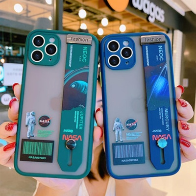 아이폰x xs max 7 8 +  나사 투명 범퍼케이스 스트랩
