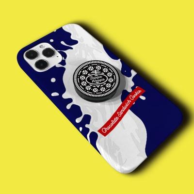 슬림하드 케이스 스마트톡 세트 - 쿠키 블루