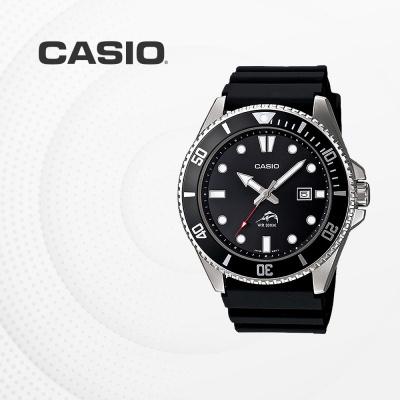 카시오 국내재고 다이버 손목시계 흑새치 MDV-106-1A