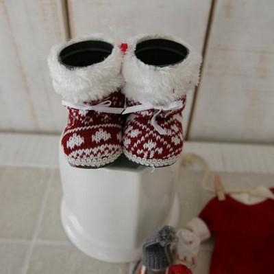 크리스마스 신발장식