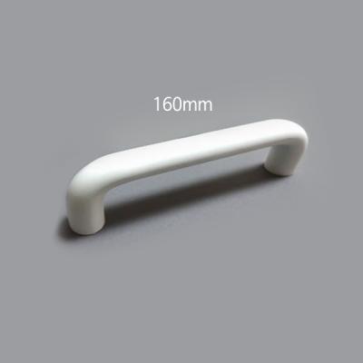 ㄷ자 봉 가구 싱크대 붙박이장 손잡이 화이트 (160mm)