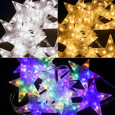LED 100P 라인별 투명선 (웜/백색/칼라)