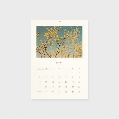 2021 Calendar _ 느린 계절