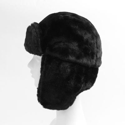 풍성한 귀달이 군밤모자(블랙)/ 겨울 방한모자
