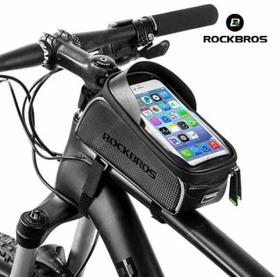 락브로스 자전거가방 휴대폰가방 프레임가방 017-1BK
