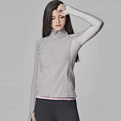 [SKN]SNJK9013 멜란지그레이 여성 운동복 요가복 자켓
