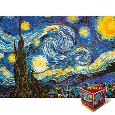 별이 빛나는 밤에 [108피스/직소퍼즐/명화/PL108-47]