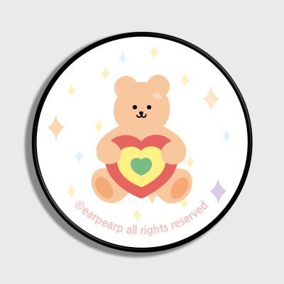 Target bear-white(스마트톡)