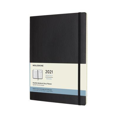 몰스킨 2021먼슬리/블랙 소프트 XL