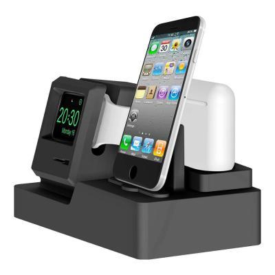 애플 아이폰 애플워치 에어팟 거치대 IDA-5610 올인원