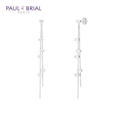 폴브리알 PYBE0092 (WG) 바게트 드롭 귀걸이