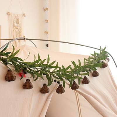 인조 넝쿨 가랜드 조화 올리브 180cm 식물 행잉플랜트