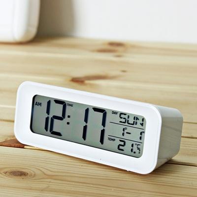(ktsx109)시크 디지털탁상시계 (화이트)