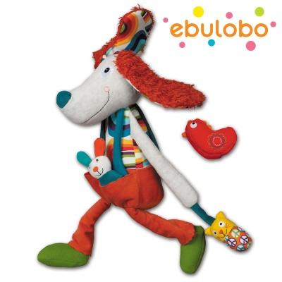 에불로보 프랑스 애착인형 강아지안토니오 액티비티