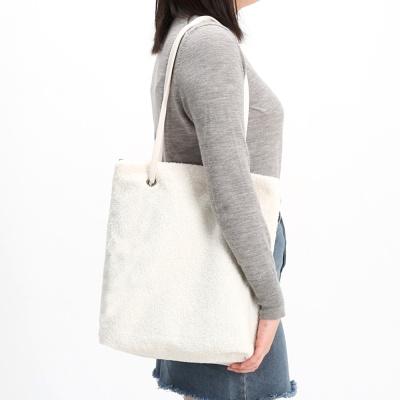 [F/W] W-21 테디양털백 여성가방