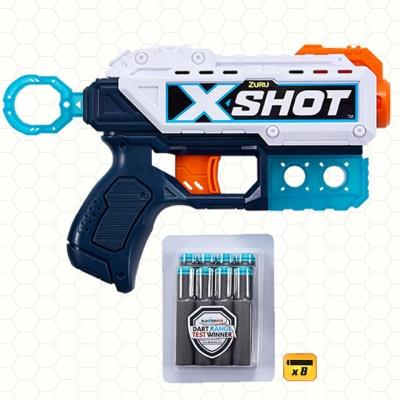 X-SHOT 엑셀 진동건 스폰지 총알 작동건