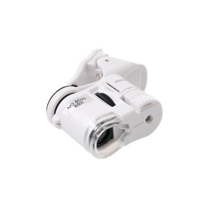LED UV라이트 스마트폰 현미경( 60X)