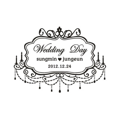 [웨딩주문제작] Wedding Day - 샹드리에