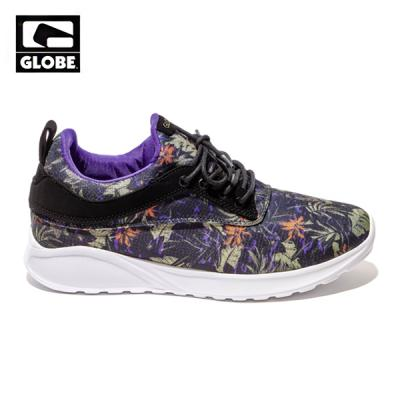 [GLOBE] ROAM LYTE (BLACK/LEAVES)