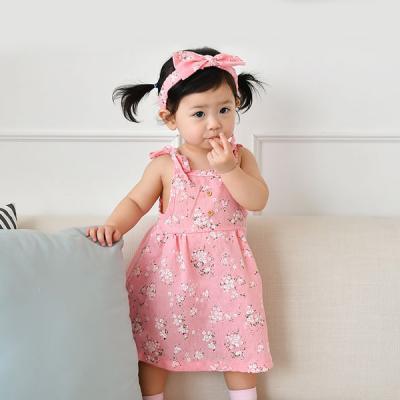 꽃나염원피스밴드세트FS(6개월-4세)300022