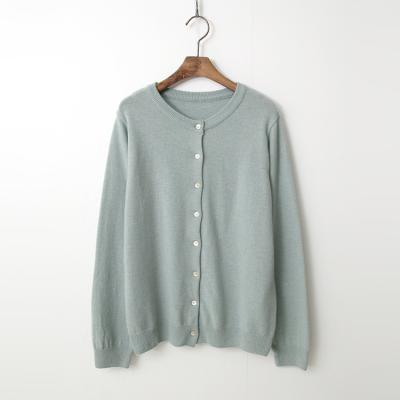Wool N Cashmere Button Cardigan