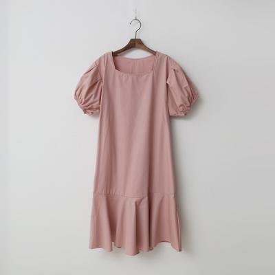 Puff Flare Dress