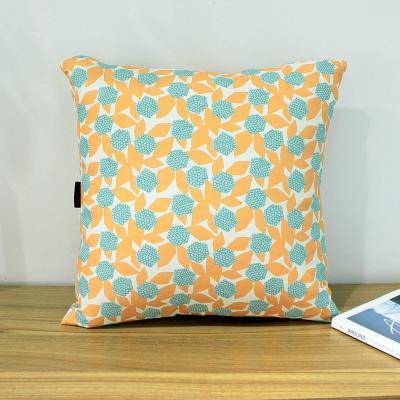 폴린 에이프릴홈 50x50 쿠션(솜포함) 오렌지 2P