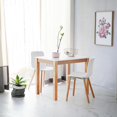 [리비니아]캘빈내츄럴 위드 하이그로시 2인식탁세트