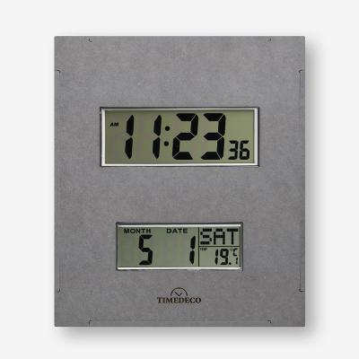 (ktk182)디지털 벽시계(온도/요일/날짜) 그레이