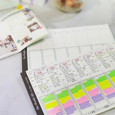 The weekly life (L)-스터디 플래너(10분공부) ver2