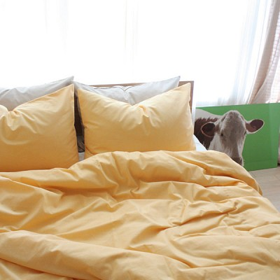 basic yellow bedding set(S/SS)