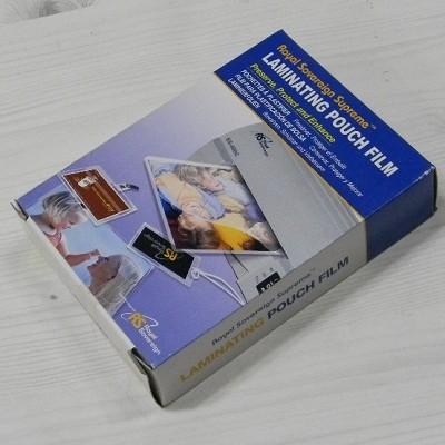 Royal Sovereign 세계인의 코팅지 로얄소브린 Supreme 라미네이팅 파우치 필름 100매팩/3x5