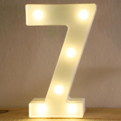 LED 앵두전구 조명등 숫자 7