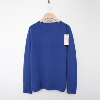Laine Cashmere Wool Round Sweater
