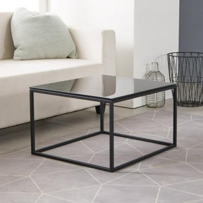 고디 550 강화유리 큐브 테이블