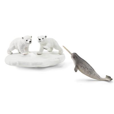 [슐라이히]북극곰과 해양 동물 세트
