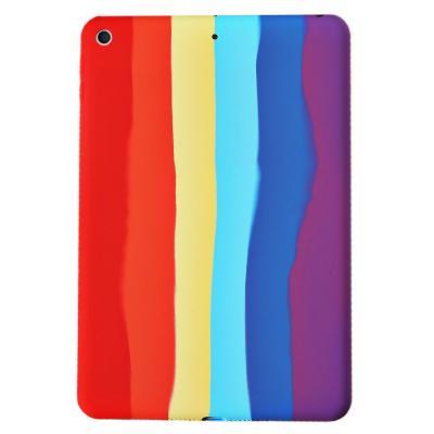T071 아이패드5 9.7 레인보우 실리콘 태블릿 케이스