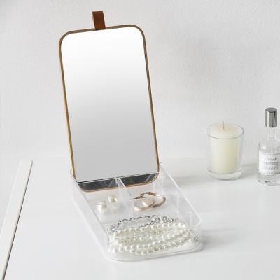로이 액세서리 거울정리함 - 직사각