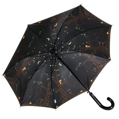 레인스토리 자동 장우산 - 밤에부엉이