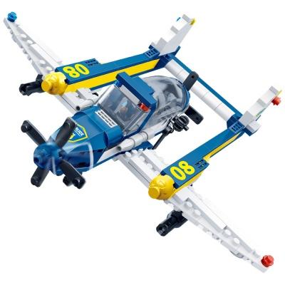 [3D퍼즐마을][반바오] BO7029 경찰 수상비행기