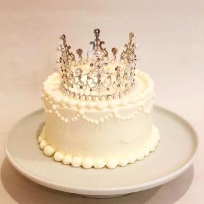 티아라 케이크 토퍼_ 브라이덜 샤워 / 생일케이크