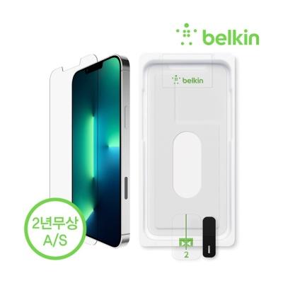 벨킨 아이폰13프로맥스 항균 강화유리 필름 OVA070zz