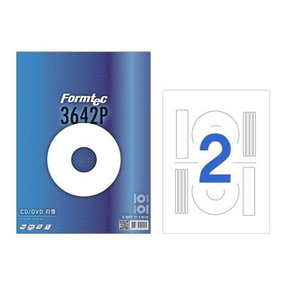 폼텍 CD/DVD 라벨/IS-3642P