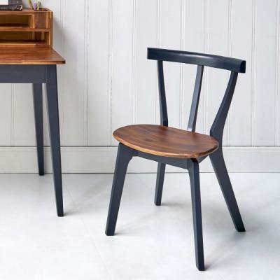 이홈데코 와플 원목 의자